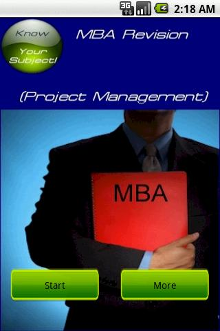 MBA Project Management For PC Windows (7, 8, 10, 10X) & Mac Computer Image Number- 5