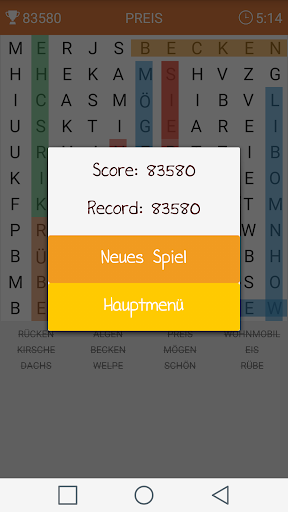 Wortsuche 2.2 screenshots 2