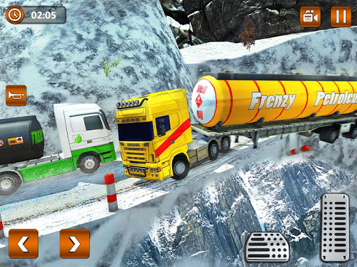 Offroad Oil Tanker Truck Transport Driver  Screenshots 14