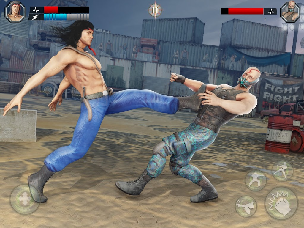 US Army Fighting Games: Kung Fu Karate Battlefield  poster 5