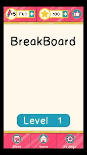 BreakBoard Mod Apk (Unlimited Stars) 1
