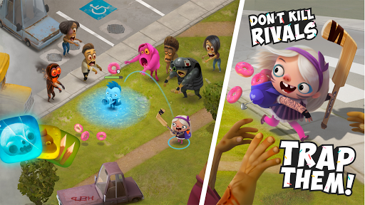 Kids vs Zombies: Brawl for Donuts screenshots 3