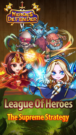 Télécharger Defender Heroes: Castle Defense - Epic TD Game APK MOD (Astuce) screenshots 1