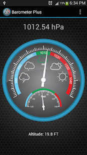 Barometer Plus Screenshot