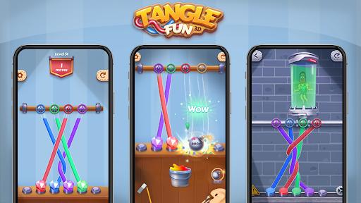 Tangle Fun - Can you untie all knots? 2.2.0 screenshots 22