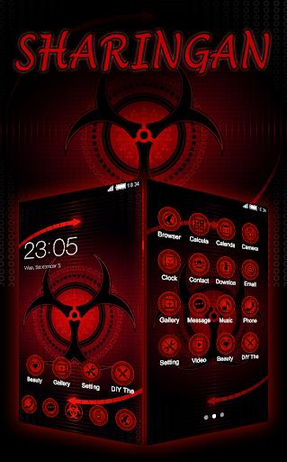 Sharingan Theme: Cool launcher Rasengan Wallpaper 4.0.11 Screenshots 3