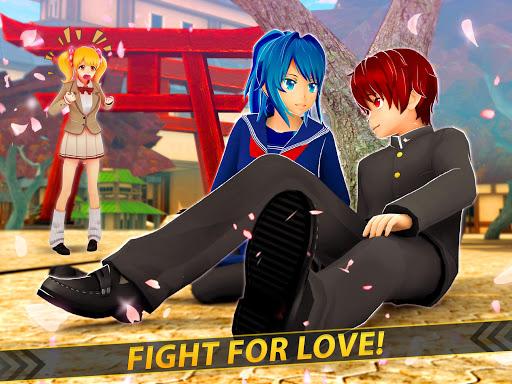 Anime Girl Run - Yandere Survival - Manga Love  screenshots 6