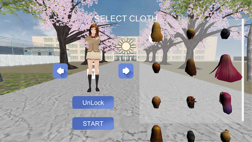 Women's School Simulator 2020 - Animal Edition  screenshots 18