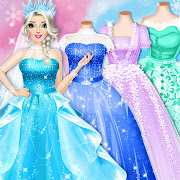 Ice Princess Wedding Dress Up Stylist