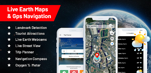 Live Earth Map Satellite View - GPS Navigation App Versi 1.0.6