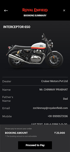 Royal Enfield App 6.7 Screenshots 9