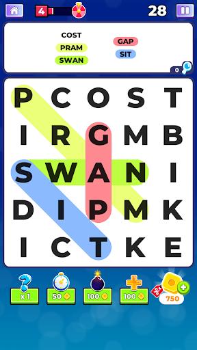 Word Search. Offline Games  screenshots 1