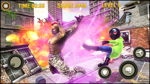 Super Hero fight game : spider boy fighting games 1.0.3 screenshots 15