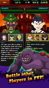 Clicker of the Dead - Zombie Idle Game