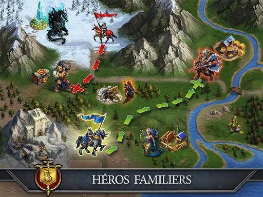 Télécharger gratuit Gods and Glory: War for the Throne APK MOD 1