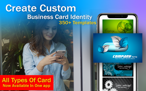 Business Card & Invitation Maker android2mod screenshots 16