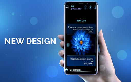 New Messenger Version 2021 theme apktram screenshots 2