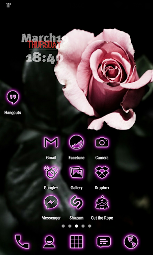 Neon-PinkPD Icon Pack For PC Windows (7, 8, 10, 10X) & Mac Computer Image Number- 6
