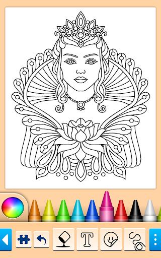 Coloring book screenshots 3