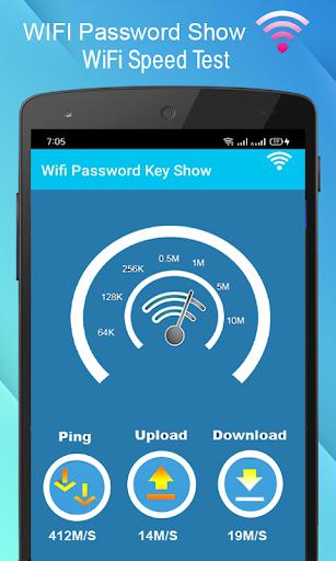 WiFi Password key Show - WiFi Analyzer  screenshots 6