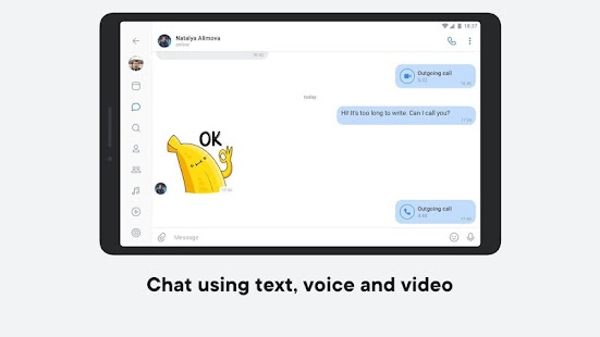 VK — live chatting & free calls Screenshot