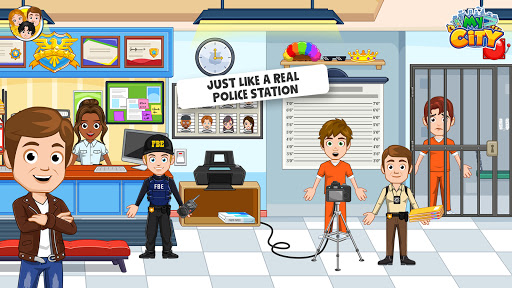 My City: Cops and Robbers - Police Game for Kidsud83dudc6e  screenshots 3