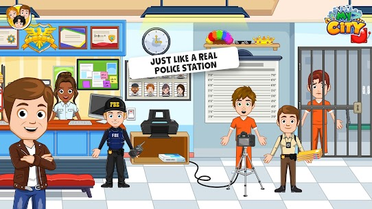 My City: Cops and Robbers – Police Game for Kids👮 Mod 1.0.4 Apk (Paid, Unlocked) 3