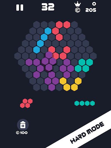 Hexa Mania Fill Hexagon Puzzle, Hex Block Blast  screenshots 10