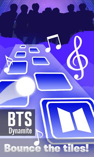 BTS Tiles Hop - Dynamite Bounce Game 2021 0.3 Screenshots 1