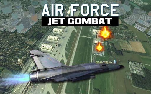 air force jet fighter combat screenshot 3