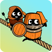 Zipline Army - Rope puzzle & strategy game
