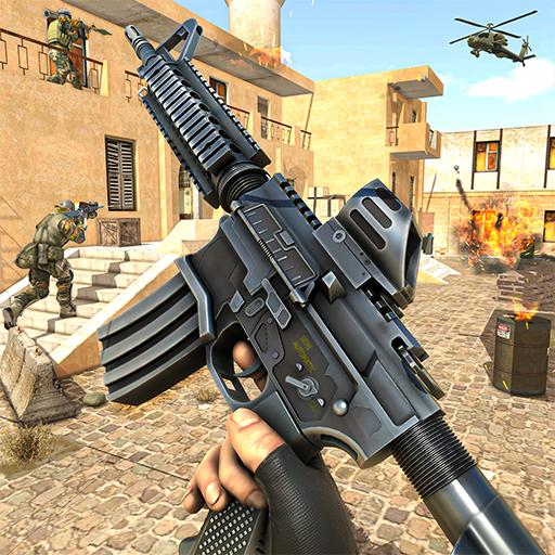 Counter Terrorist Fps Pagbaril Laro: Baril laro 3d