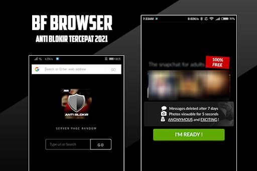 BF Browser Anti Blokir  screenshots 1