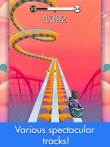 Coaster Rush: Addicting Endless Runner Games 2.2.16 screenshots 10