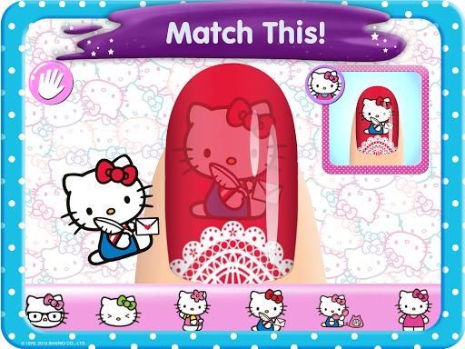 Hello Kitty Nail Salon goodtube screenshots 8