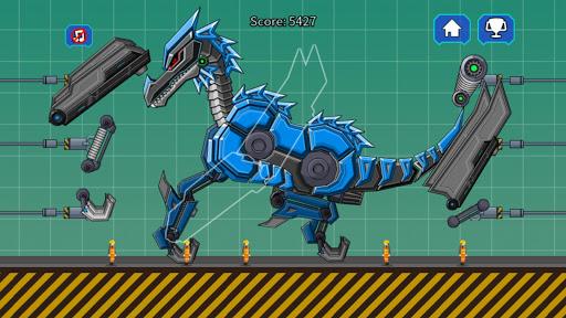 Black Pterosaur Attack - Robot Toy War 2.4 screenshots 1