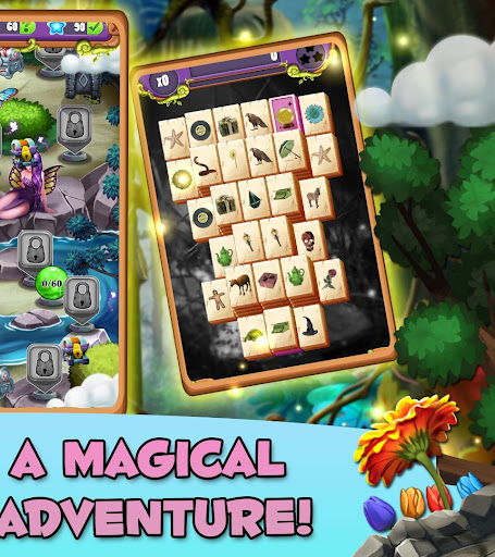Mahjong Magic Lands: Fairy King's Quest Apkfinish screenshots 16