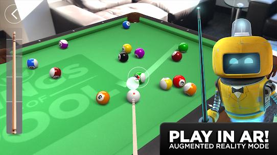 Kings of Pool MOD APK 1.25.5 (Unlimited guideline) 1