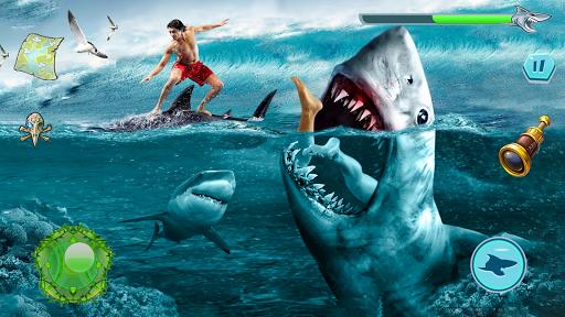 Angry Shark Attack - Wild Shark Game apkdebit screenshots 1