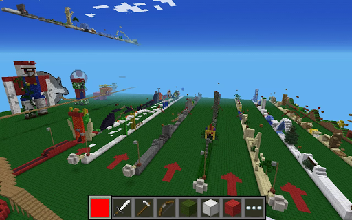 Parkour for MCPE. Best maps. 2 screenshots 1