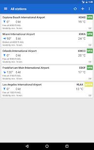 Avia Weather - METAR & TAF 2.12.6 Screenshots 9