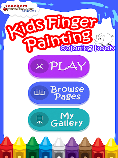 Kids Finger Painting Coloring screenshots 9