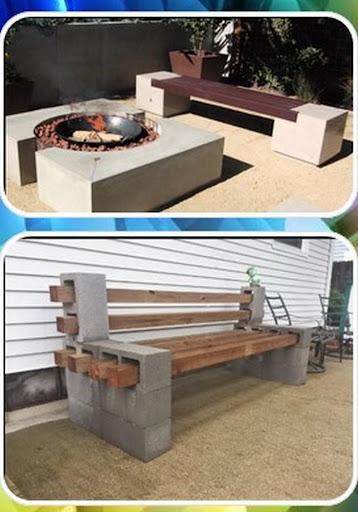 cinder block bench  Screenshots 1