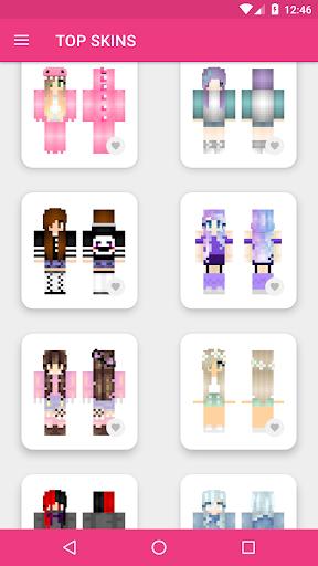 Girls Skins for Minecraft PE 3.4.3 Screenshots 19