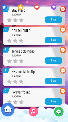 BLACKPINK Piano Tiles KPOP 1.2 screenshots 2