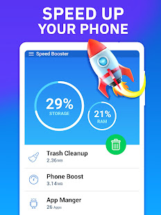 Phone Speed Booster - Junk Removal and Optimizer