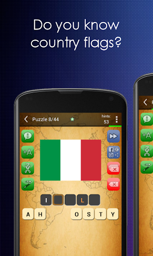 Picture Quiz: Country Flags screenshots 1