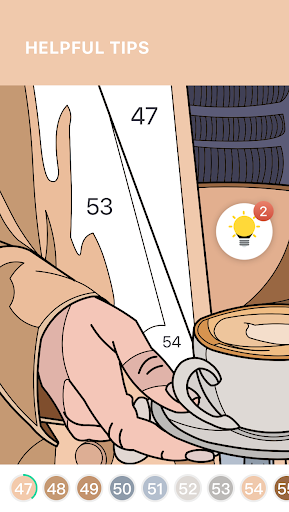 Tap Coloring - Color by Number, A Fun Art Game screenshots 5