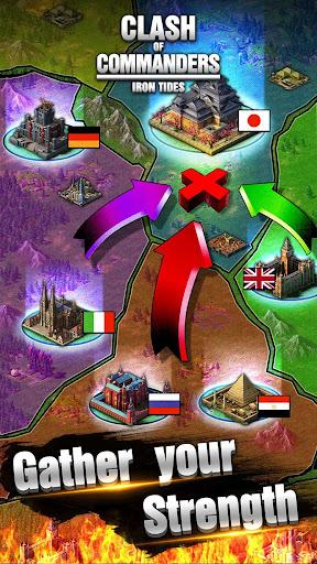 Clash of Commanders-Iron Tides 1.8.4 screenshots 3
