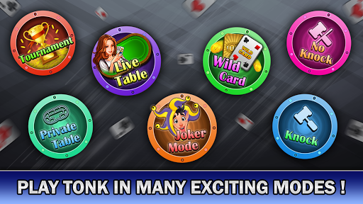 Tonk Online : Multiplayer Card Game android2mod screenshots 1